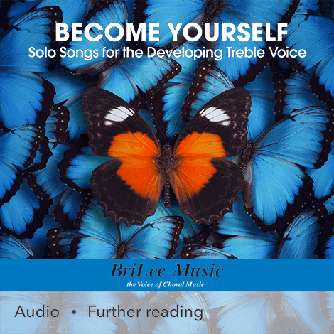 Cover - Become Yourself: Solo Songs for the Developing Treble Voice - Vicki Tucker Courtney