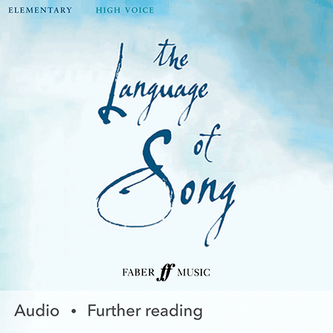 Cover - The Language Of Song: Elementary (High Voice)  - Heidi Pegler & Nicola-Jane Kemp (selection, edition)