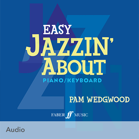 Cover - Easy Jazzin' About - Pamela Wedgwood