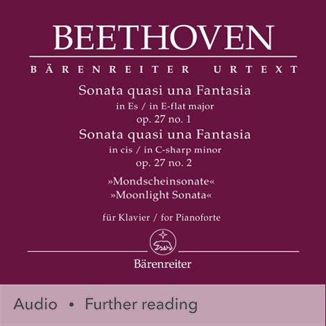 "Cover - Sonata quasi una Fantasia in E-flat major/C-sharp minor for Pianoforte, Op. 27 ""Moonlight"" - Ludwig van Beethoven"
