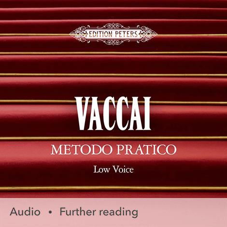 Cover - Vaccai, Metodo Pratico de Canto (Low Voice) - Nicola Vaccai