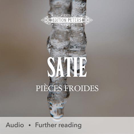 Cover - Pièces froides: 3 Airs à faire fuir - Erik Satie