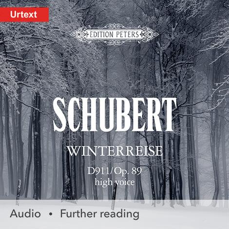 Cover - Winterreise (High Voice) - Franz Schubert (music); Wilhelm Müller (words)