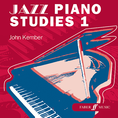 Cover - Jazz Piano Studies 1 - John Kember